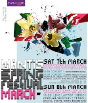 MANTIS Festival March 2009 poster