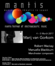 Mantis festival poster March 2017