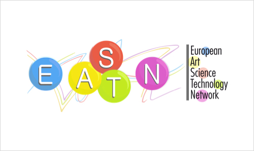 EASTN-DC logo featuring the text 'European Art-Science-Technology Network for Digital Creativity