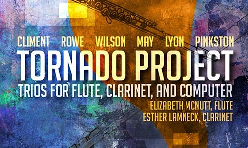 Tornado Project title graphics (white text on blue and orange background)